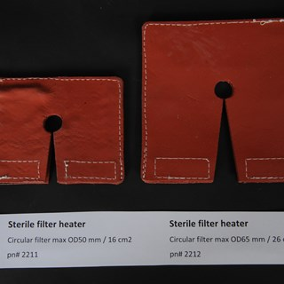 sterile filter heaters in two sizes.JPG